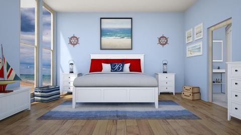 Nautical Bedroom - Bedroom - by Tzed Design