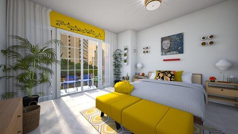 Urban Jungle - Bedroom - by JayellaCruise