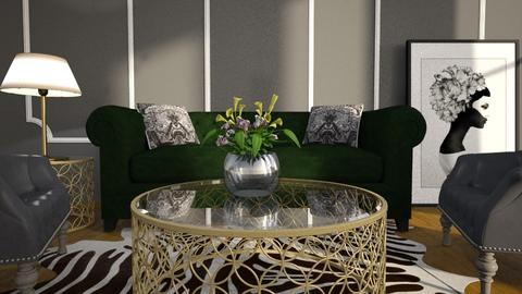 Template room - Living room - by ievaelizabete