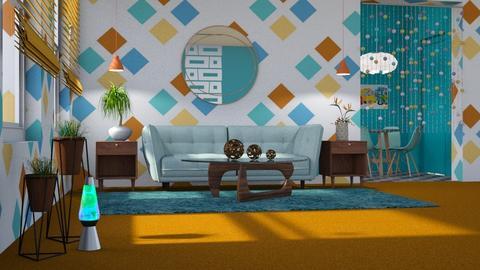 Orange Carpet - by Bonnie Chappell