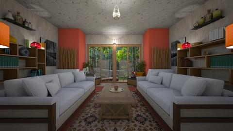 bamboo - Living room - by allday08