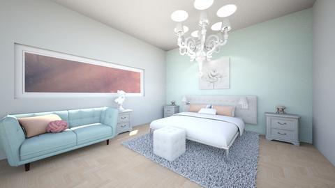 fancy bedroom - Feminine - Bedroom - by Lucywrz