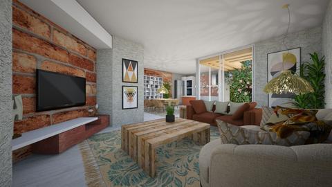 Sunday - Living room - by nanabpf