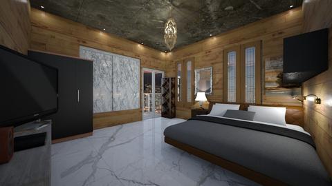 sinchia room - Bedroom - by slyteryn oliver