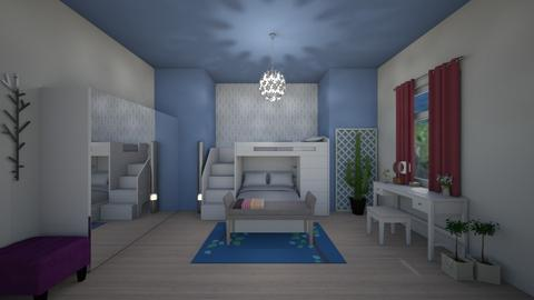 bunk bed - Bedroom - by evalackovic11