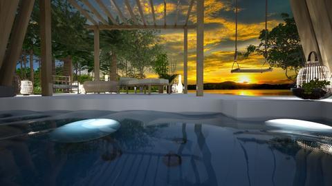 pool - Garden - by ana111