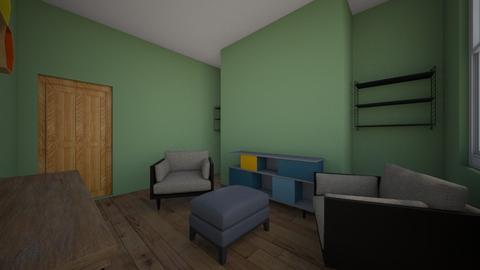 Front Snug - Retro - Living room - by Vicki Burgess
