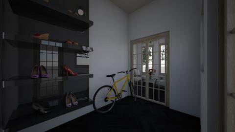 simple house entrance - by Brina Yunio