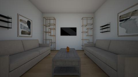 Symmetrical Balance_WN  - Living room - by SmithFACS