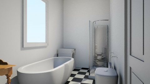 Main B with rect shower - Bathroom - by willswanson