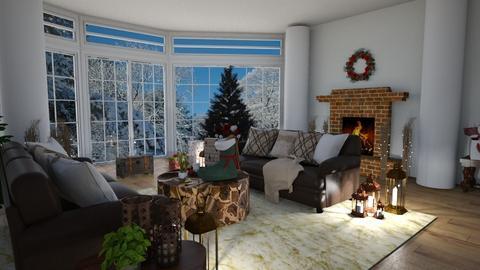 Cozy Christmas - Classic - Living room - by jammuek