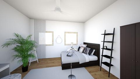 Minimalist bedroom - Minimal - Bedroom - by mh111