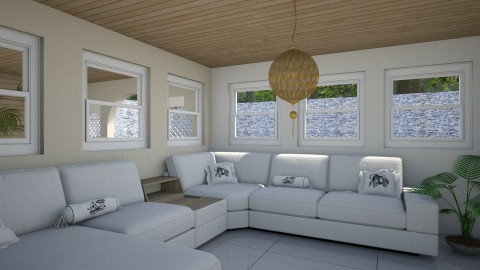 apart room - Living room - by Diawlih_