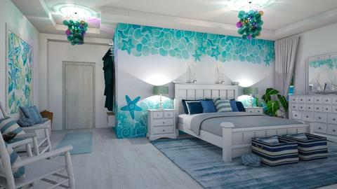 nautical bedroom - Bedroom - by matina1976