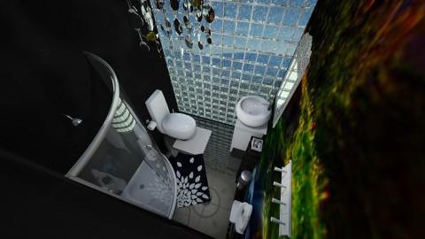 Wallpaper toilette_v1 - Bathroom - by jonofer