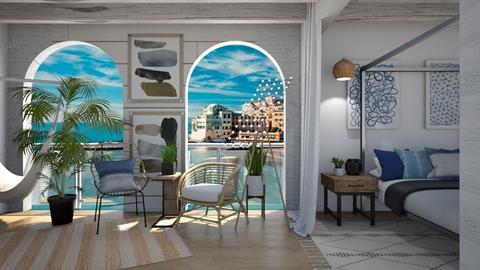 On the Beach - Living room - by GinnyGranger394