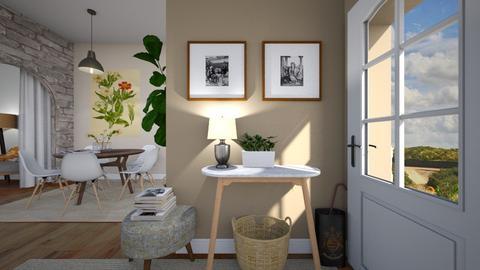 Cozy Entrance - by smccauley029