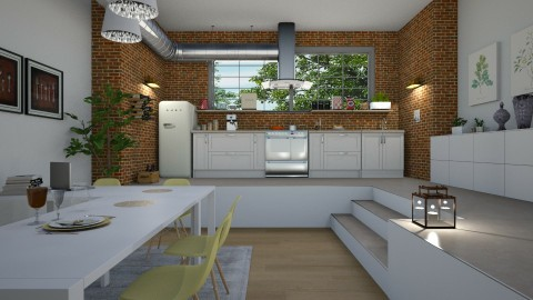 Little kitchen - by Val Val