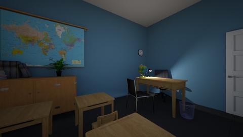 TV Drama Set - Office - by celinemcinerney