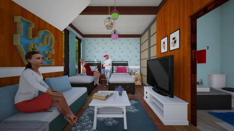 Keilasdorm - Bedroom - by Pilita Jabers