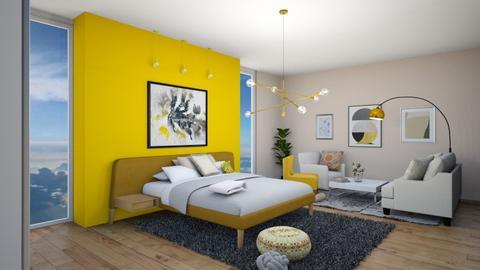 yellow - by maritaaslamazashvili