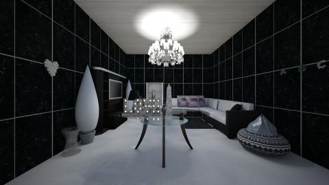 Black and white  - by Anaherawalkerxoxo