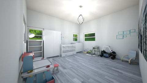 Gray nursery - by Vic1234567