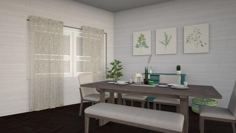 green - Dining room - by Carolina Soriani