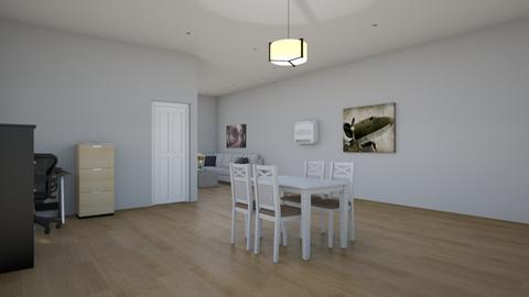 Modern Mid Size Apartment - Modern - Dining room - by Jackson Moore