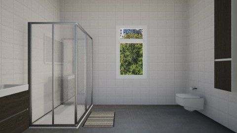 my new house bathroom - Modern - Bathroom - by tinin