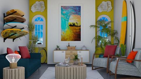 Surf Culture Living - Living room - by laurenpoisner