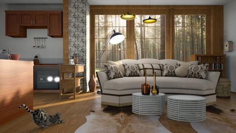 new sofa - Living room - by BortikZemec