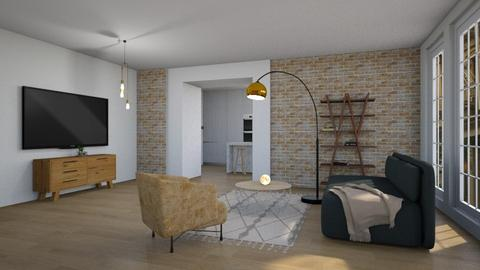 nr 1 - Modern - Living room - by tolo13lolo