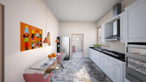 pink eclectic 5 - Kitchen - by abby_o