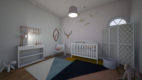 Kiddie - Kids room - by kapetanovica23