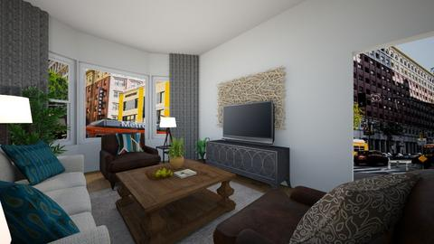 Air Bnb living room - by abbybell6