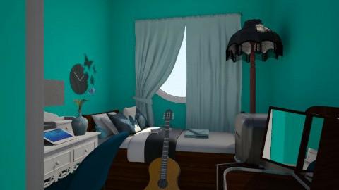 TealNakagi Capsule Room 2 - Bedroom - by AnaACE16