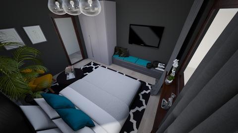 black bedroom - by czoriszka