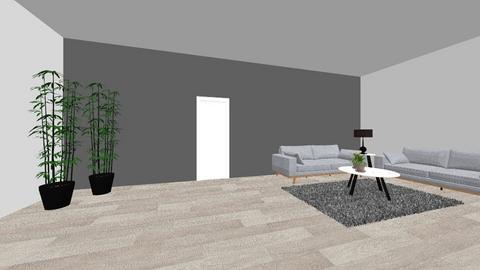Woonkamer - Living room - by Sem Wille