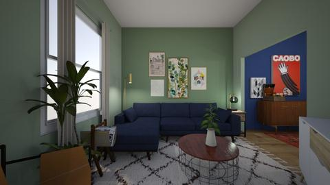 New Home 1 - Living room - by kburns