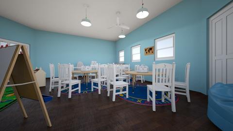 Desk Area - Kids room - by Lika T