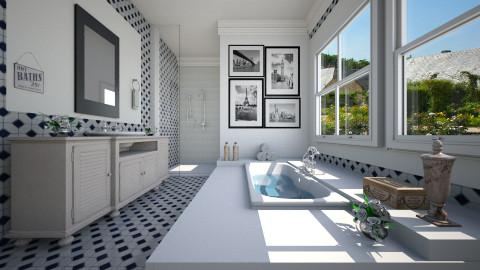 O Banheiro - Bathroom - by Sanare Sousa