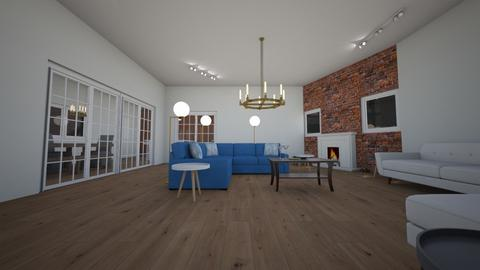 ARTISAN FLOORING  LIVING - Rustic - Living room - by With Ice Cream