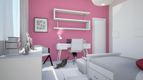 Danny - Feminine - Bedroom - by kellassuncao