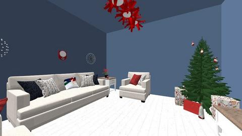 Christmas Living room  - Living room - by Shayleewise22