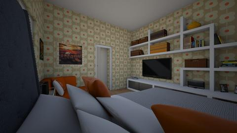 bed - Bedroom - by gizzzzz_