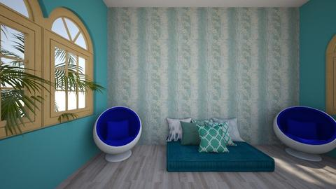 GET TOGETHER ROOM - Modern - Living room - by zaryah