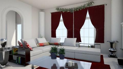 Xmas Time 14 - Modern - Living room - by Ashleymg