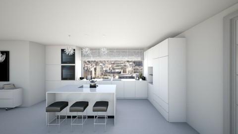 kitchen 2 - Modern - Kitchen - by luciajaimedc