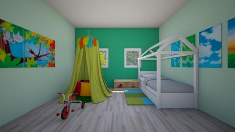House 1 - Living room - by PAULA avila